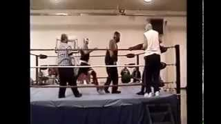 "CCW ""Birthday Bash"" Ox Baker/TKO Knuckles/Brutal Pain VS Bobo Brazil Jr./Sabu (4/19/14)"