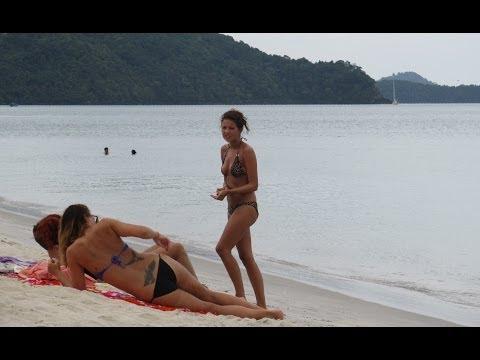 Langkawi beaches  Malaysia Пляжи  о. Лангкави  Малайзия
