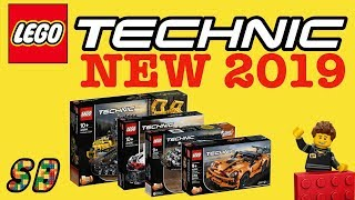 ALL NEW LEGO Technic 2019 Sets Winter wave