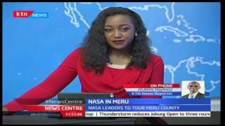 WARM RECEPTION: Raila Odinga leads Nasa brigade to Meru County