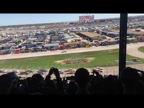 NASCAR 2015 Texas Motor Speedway Start