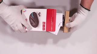 Unboxing Mouse wireless YVI FX black hands on review