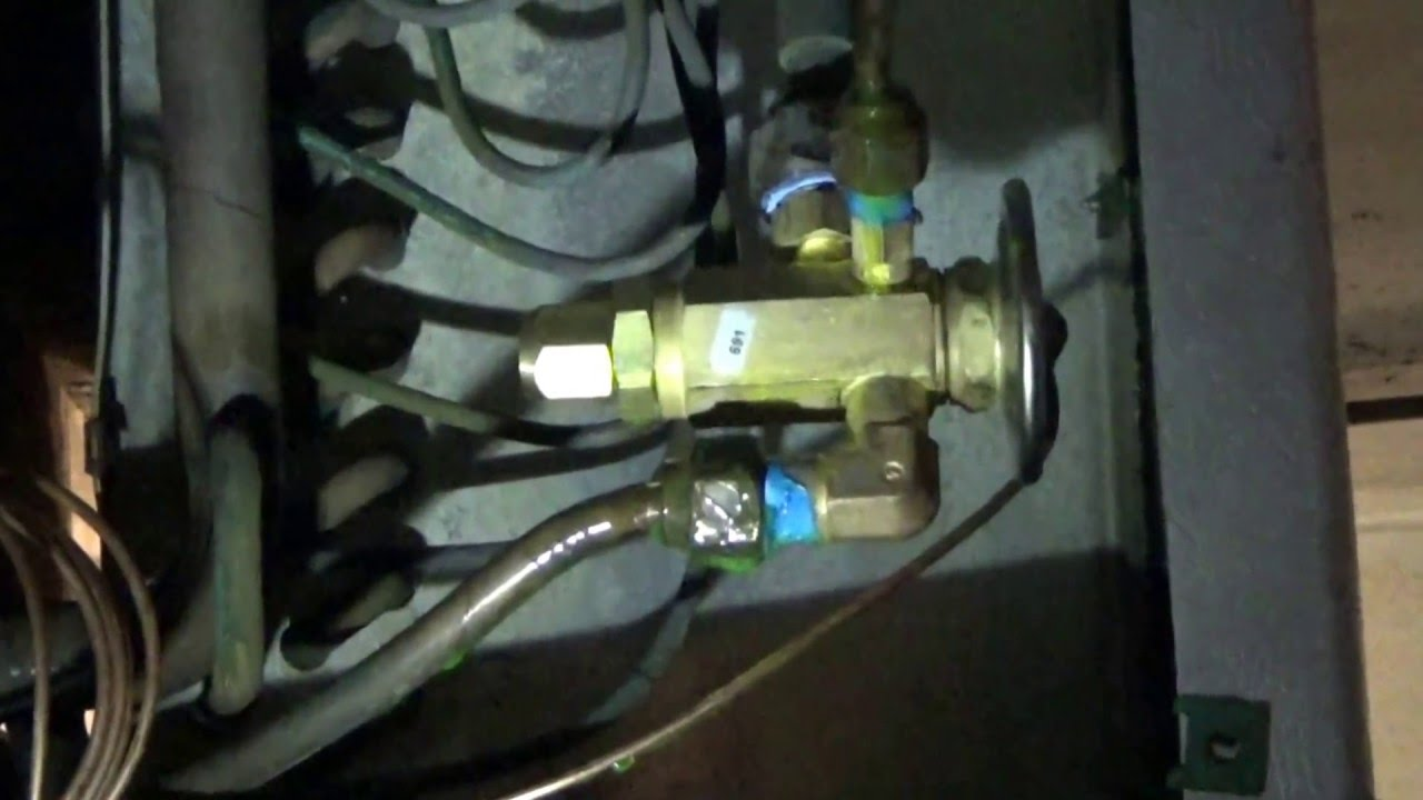 Walk In Cooler Wiring Expansion Valve Replace And Adjust Youtube