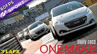 GT SPORT | FUN Peugeot 208 GTi ONEMAKE Online Race