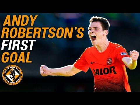 19-Year-Old Andy Robertson Scores his First Dundee United Goal! | Throwback Thursday | SPFL