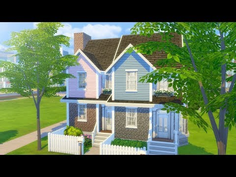 OPPOSITE TOWNHOUSES // The Sims 4: Speed Build