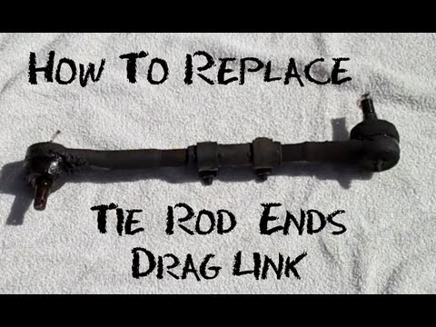 jeep jk front end diagram food label how to replace tie rod ends (drag link) - half idiots guide youtube