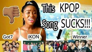 Reacting to GOT7, WINNER, iKON ( Look, Everyday, Love Scenario) | First Time
