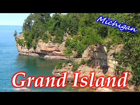 Backpacking on Grand Island Michigan in Lake Superior next to Pictured Rocks