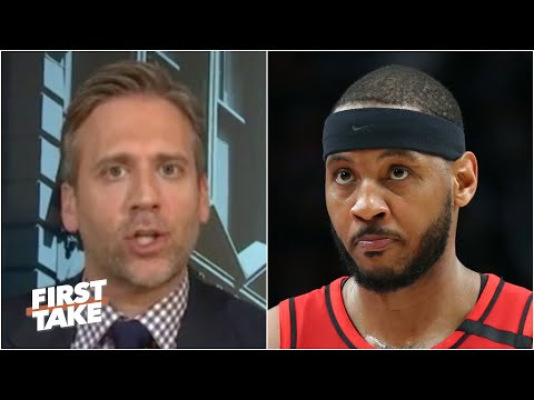 Max Kellerman won't apologize after Carmelo Anthony's game-winner against the Rockets | First Take