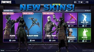 Fortnite Item Shop [11 octobre] NEW SKINS! PLAGUE ET SCOURGE