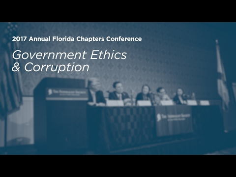 Government Ethics and Corruption