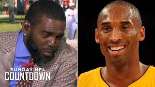 Randy Moss' emotional message remembering Kobe Bryant: 'Mamba Forever' | NFL Countdown