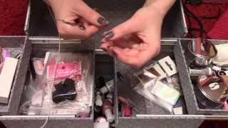 ASMR Gel nail collection, showing a box of equipment (soft spoken) English