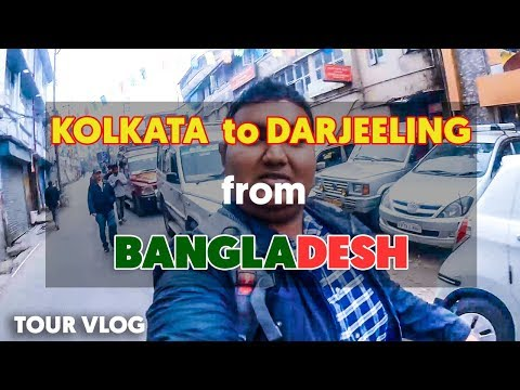 Kolkata to Darjeeling Journey Experience & Guideline with ENGLISH Subtitle | VLOG 2 | A Rahman ATIK