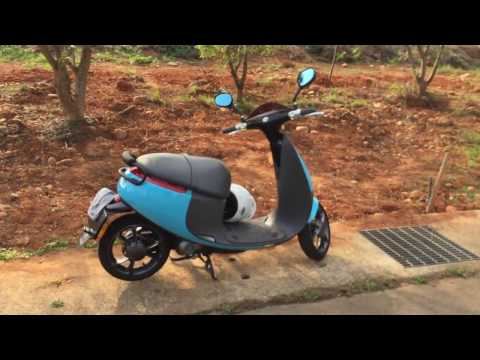 Owner's Hands-on Overview of a Gogoro Plus Smartscooter
