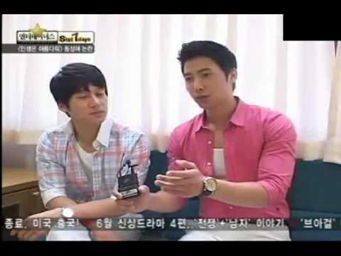 100605 Song Chang Eui & Lee SangWoo Interview