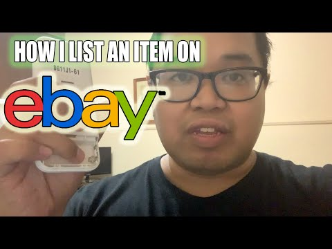 How I List An Item On Ebay And Ebay Canada