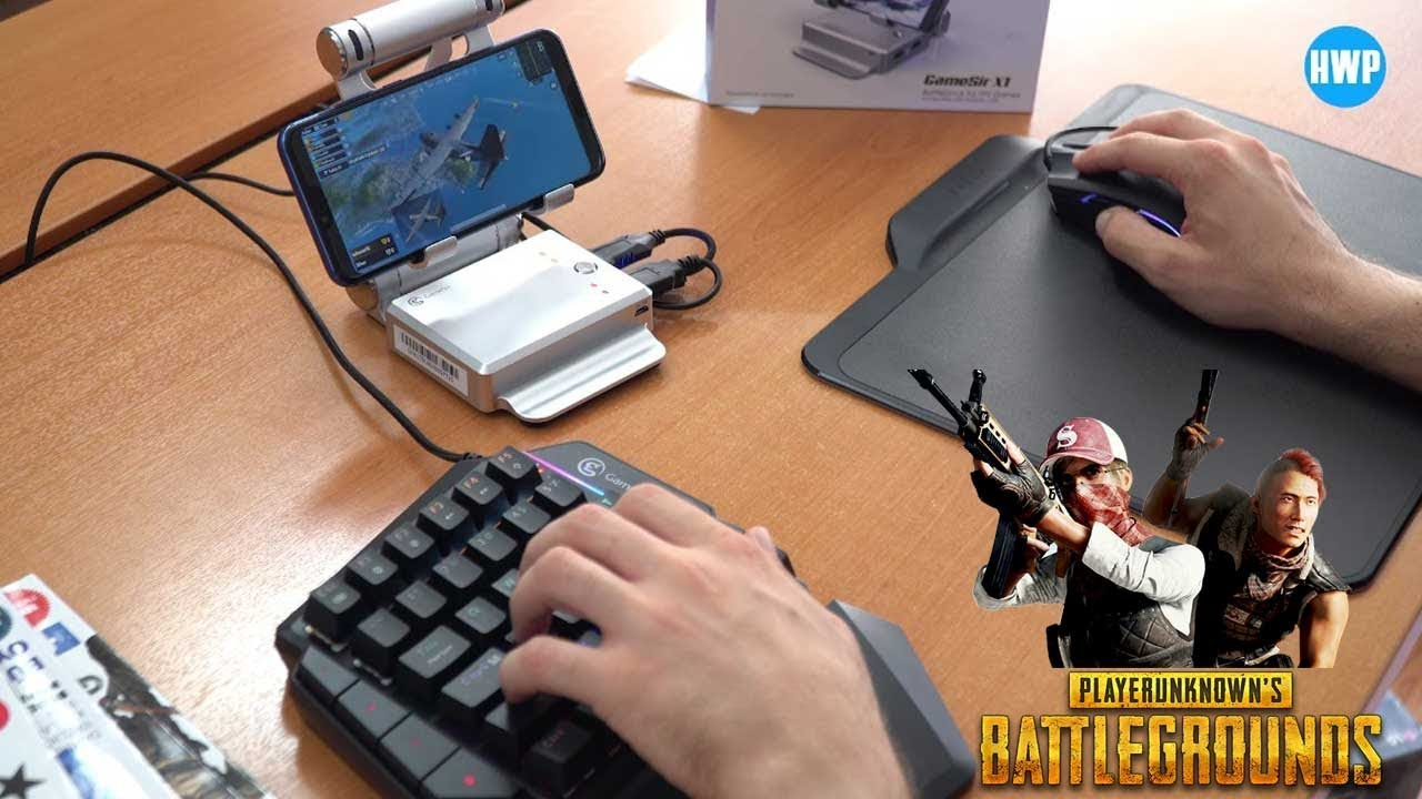 Telefondan Klavye Ve Mouse Ile Pubg Oynamak Gamesir X1 Youtube