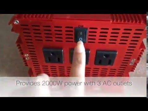 2000W Power Inverter | BESTEK | Power Inverter & Customer Reviews