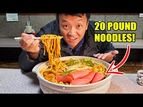 massive-20-pound-breakfast-noodles-&-100-chicken-wing-food-challenge-in-nagoya-japan-giant-food-day