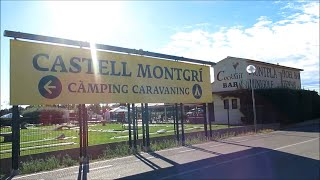 Castell Montgri, Estartit 2020 - COVID