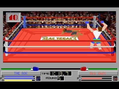 4D Sports Boxing v2.0 (PC/DOS) 1992, Electronic Arts, Distinctive Software Inc