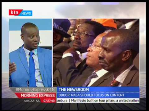 The Newsroom : The Launch of Jubilee and NASA manifestos