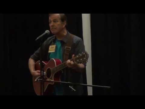 Jim Stafford performs