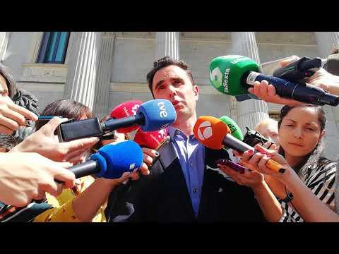 Podemos y Falciani registran una iniciativa en el Congreso para solicitar la no extradición a Suiza.