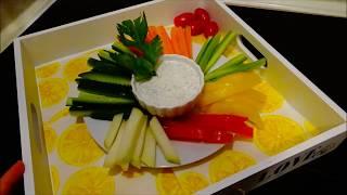 Самый вкусный рецепт холодной закуски из сырых овощей