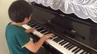 Joel plays Heavy Work by Christopher Norton on the Piano