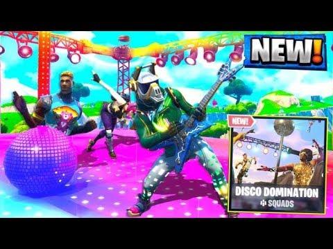 WINNING EVERY DISCO DOMINATION LTM! Fortnite Battle Royale New Update