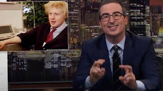 Boris Johnson: Last Week Tonight with John Oliver HBO 2019