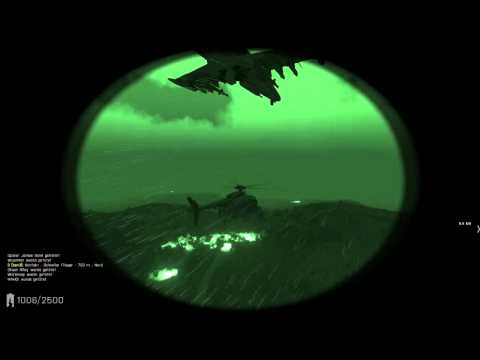 hacker attack Arma 3 Epoch Mod Jet vs Hummingbird