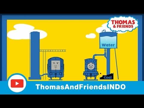 Thomas & Friends Indonesia: Kereta Uap vs. Kereta Diesel