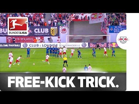 Leipzig's Creative Free-Kick Routine
