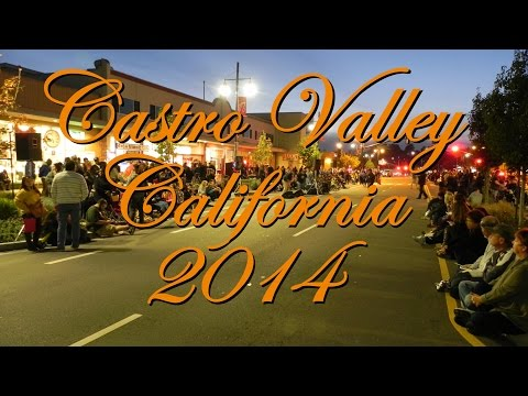 2014 Castro Valley Meet in the Street and  Light Parade