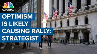 Optimism is likely sparking a summer rally: Ally Invest's Lindsey Bell
