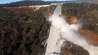 Evacuation ordered as officials warn of California dam collapse