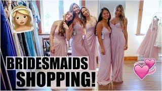 Bridesmaids Dress Shopping + Huge Haul!!