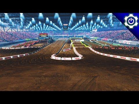 MX vs ATV Supercross Encore - Detroit SX Gameplay