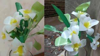Cara membuat bunga Kamboja dari Sedotan