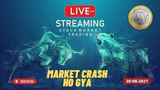 Nifty Crash   Live Stock Market   Live option Trading   Live Trading