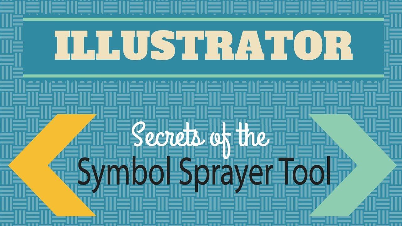 Symbol sprayer secrets in adobe illustrator youtube biocorpaavc