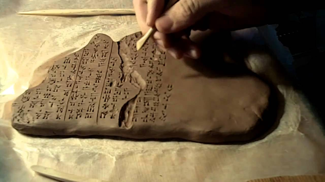 how to write in cuneiform