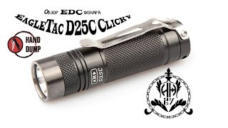 Огляд EDC ліхтаря EagleTac D25C Clicky