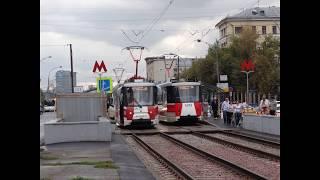 Смотреть видео Транспортные истории. Памяти ЛМ-2008 в Москве! онлайн