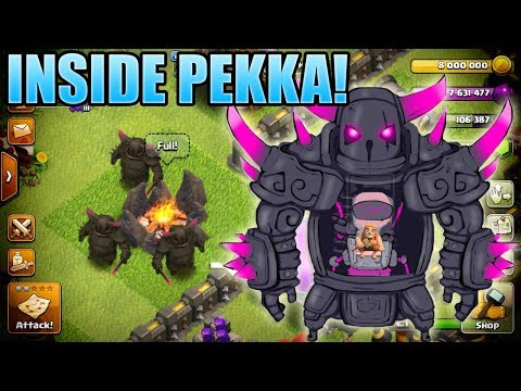 Who Is The P.E.K.K.A? What's Inside? The P.E.K.K.A's Secret Identity! Conspiracy Theory - CoC