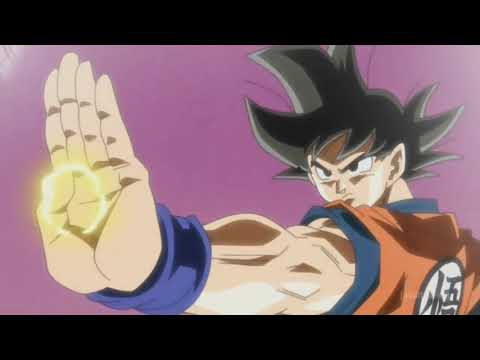 Vegeta vs Gryll and Goku trains at King kai English Dub